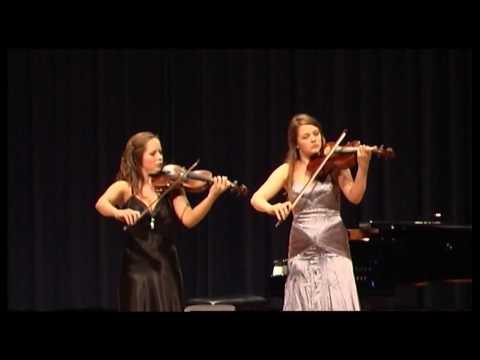 Händel/Halvorsen Passacaglia for Violin and Viola - Sophie Moser and Pauline Moser