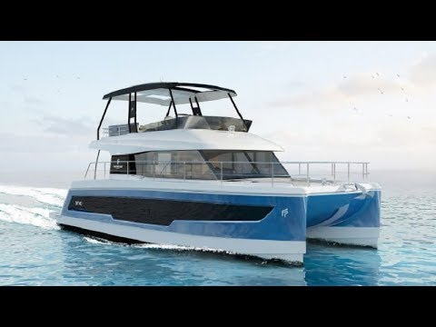Fountaine Pajot Power 40 catamaran 2019 - World Premiere!