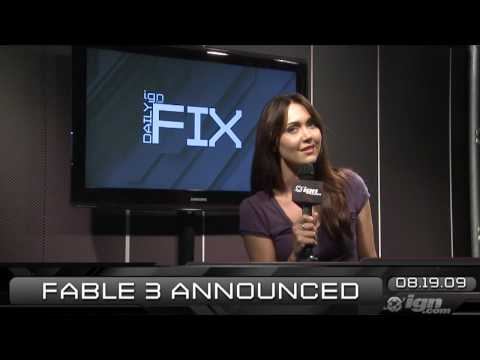 IGN Daily Fix, 8-19: Fable 3, GT 5 and MGS News