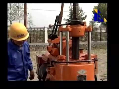 AKL 200L water well drilling rig operation video