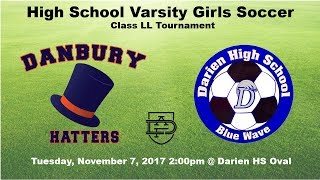 Darien Varsity Girls Soccer vs Danbury