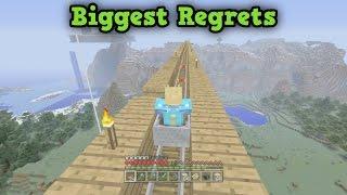 My BIGGEST REGRETS in Minecraft Survival