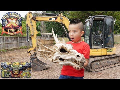 Hunting DRAGON'S GOLD Treasure X Season 2 Fun Adventure With Ckn Toys
