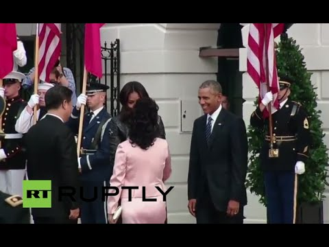 LIVE: Obama welcomes Xi Jinping at the White House