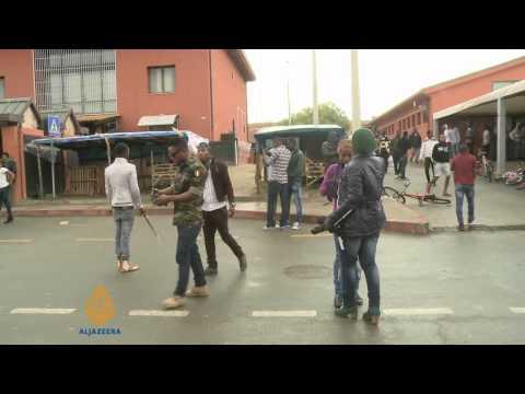 Asylum seekers in Italy face uncertain future