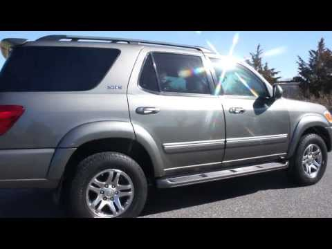 ARMORED 2005 Toyota Sequoia SR5 4x4 For Sale~7 Passenger~3rd Row Seat~Low Miles