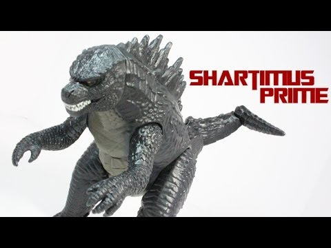 Godzilla 2014 Tail Strike Movie Toy Review