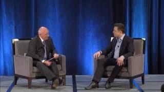 Elon Musk calls Falcon 9 explosion ISS RvesvesD conference in Boston
