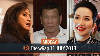 Duterte: Leni is incompetent, Kris Aquino | Midday wRap