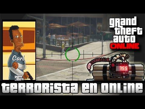 Como ser un Terrorista en GTA V Online | Videos Random