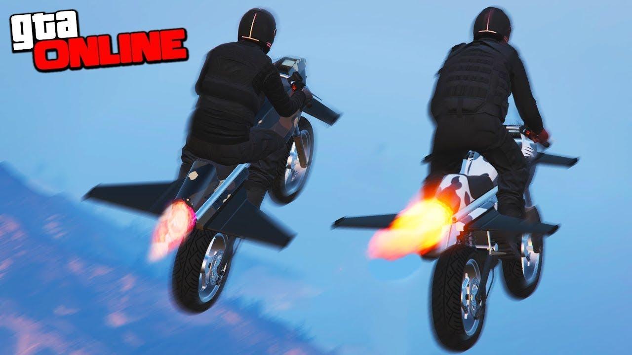 Как сделать мотоцикл в гта 5 982