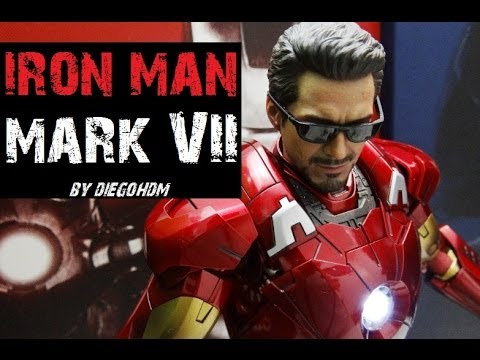Hot Toys Iron Man Mark VII The Avengers Unbox e Review / DiegoHDM