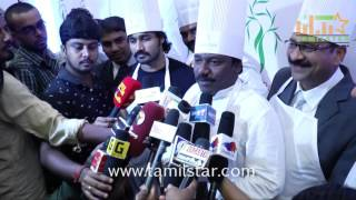 Karunas And Deepak At Green Park Hotel For Cake Mixing Ceremony