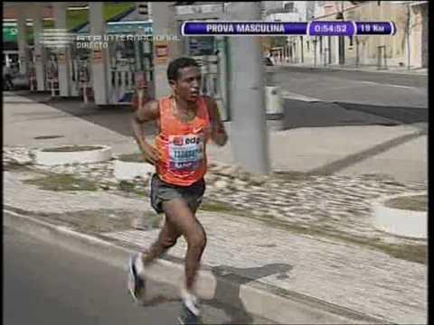 Zersenay Tadese 58:23 WR in Lisbon