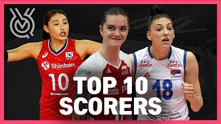 Top 10 Scorers | Women's Volleyball Olympic Qualification 2019
