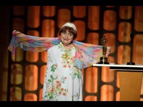 Agnès Varda receives an Honorary Award at the 2017 Governors Awards