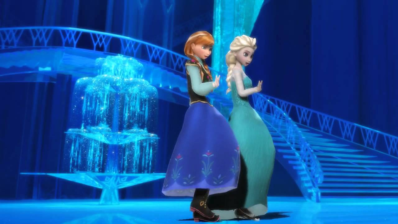 【mmd】anna Amp Elsa Melody Line Frozen Youtube