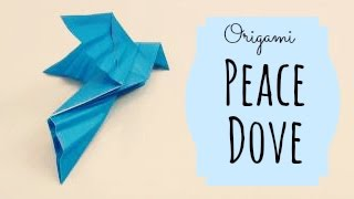 Peace Dove Origami Instructions (traditional Origami)