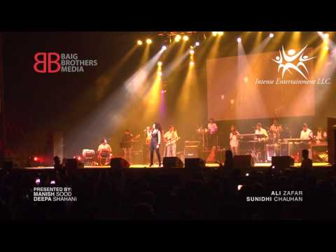 Sunidhi Chauhan Live in Concert Ishq Sufiyana