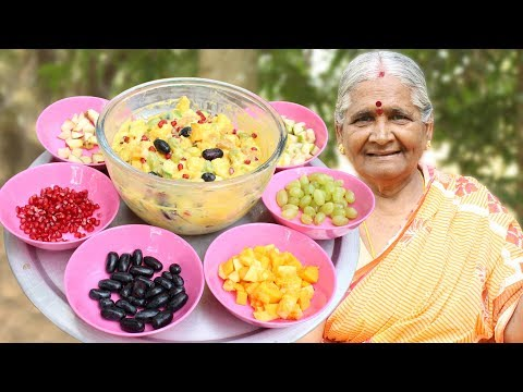How to Make Custard || Fruit Custard Recipe || Basic Fruit Custard || Myna Street Food