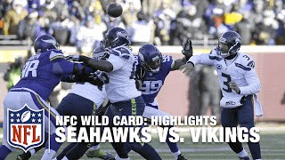 Seahawks vs. Vikings | NFC Wild Card Highlights | NFL