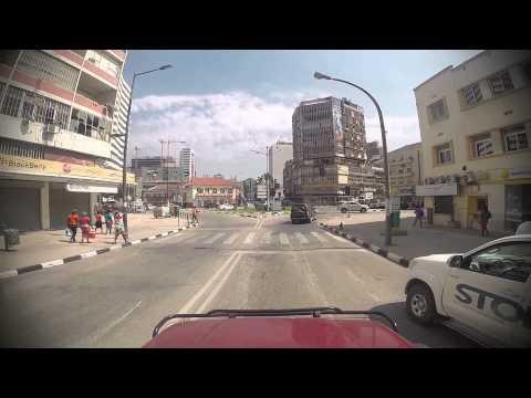 Day 28 Luanda city center drive