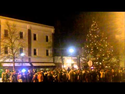 Salem Christmas Tree Lighting 2014