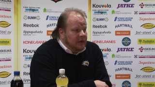 KooKooTV: Lehdistötilaisuus, KooKoo-Sport 6-3, 11.1.2014