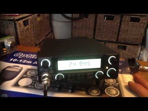 Optima 10-12m AM//FM/SSB HAM TRANSCEIVER