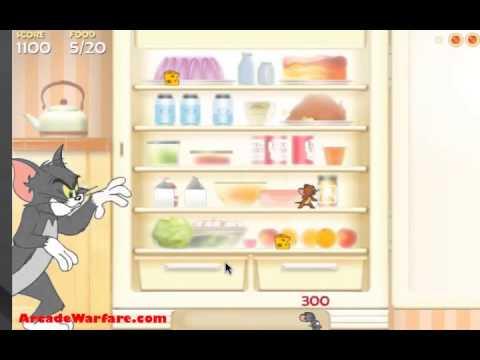 เกมส์เจอรี่ขโมยขนมในตู้เย็น