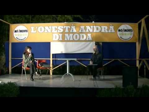 Ginevra Lombardi intervento alla Festa Del Cittadino di Pistoia 20 06 2014