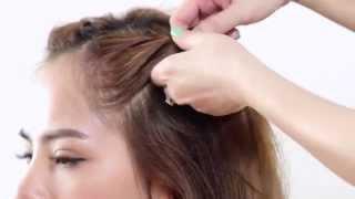 Hướng dẫn làm 3 kiểu tóc tết búi duyên dáng, mát mẻ