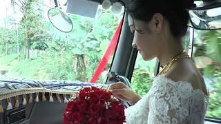 Yên bái đón dâu bằng xe đầu kéo & các loại xe tải ( chú rể Nguyễn hải S2 cô dâu Vũ yến )