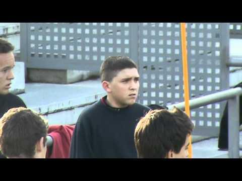 Entrenamientos de Muza y Jordano en el Alcobendas Club de Fútbol (Cadete A)