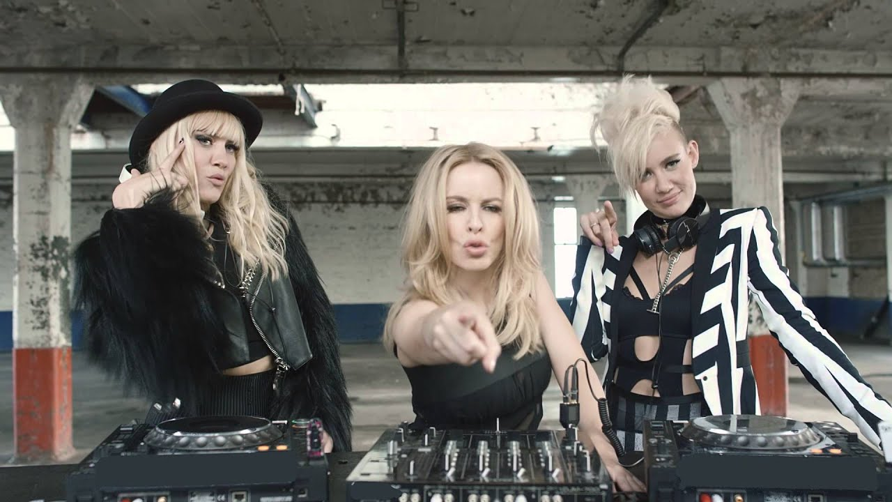 NERVO feat. Kylie Minogue, Jake Shears & Nile Rodgers - The Other Boys (Official Video)
