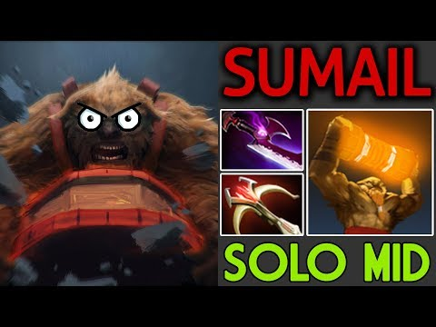 SUMAIL Dota 2 [Earthshaker] SoloMid - Style One Hit