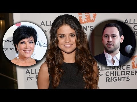 Selena Gomez Eyes Kris Jenner & Scooter Braun as Her New Managers