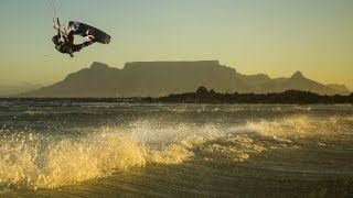 Big air kiteboarding in Cape Town - Red Bull King of the Air