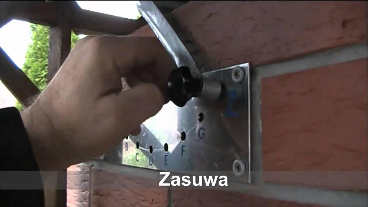 Wędzarnia  szczegóły budowy  YouTube -> Kuchnia Kaflowa Schemat Budowy