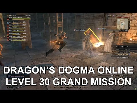 Dragon's Dogma Online Level 30 Grand Mission