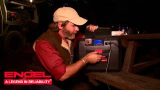 Graham Cahill tests Engel Smart Battery Box