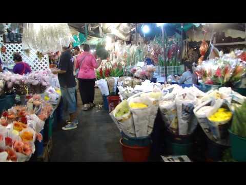 2012-02-06 Pak Khlong Talat, Mercado de flores, Bangkok กรุงเทพมหานคร