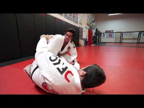 Jiu Jitsu Techniques - Spider Guard Sweep Image 1