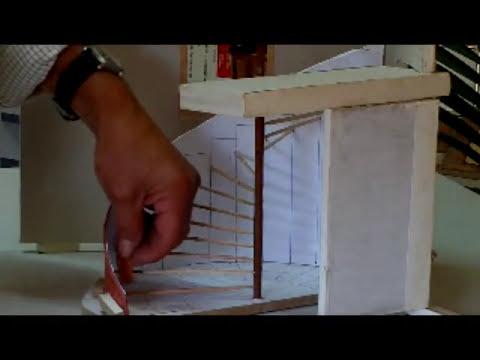 Escalera de caracol teórica-práctica.maqueta 1:15 video nº 49wmv