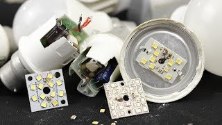 How to Repair Fused LED Bulbs at Home. | DIY |