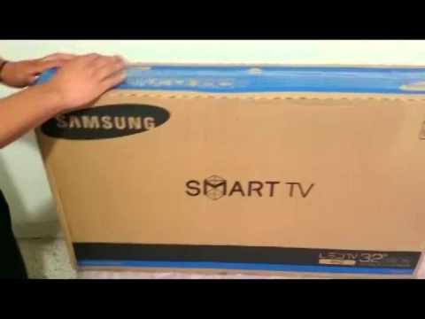Unboxing Pantalla Samsung HD Smart TV Led 32