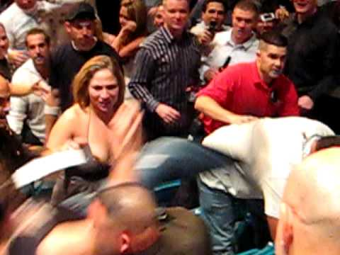 UFC 91 Crowd Fight