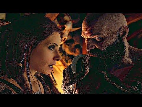 GOD OF WAR 4 - Freya True Identity & Kratos Gets Mad