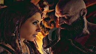 GOD OF WAR 4 - Freya True Identity & Kratos Gets Mad