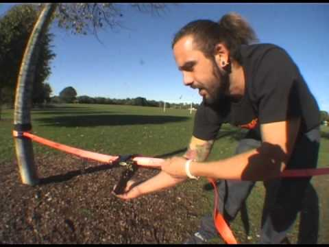 How to set up your Maverick Slackline